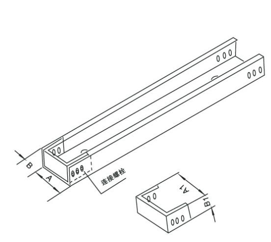 槽式桥架型终端封头
